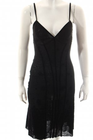 Jean Paul Gaultier Trägerkleid schwarz Elegant