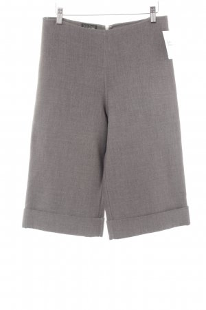 Jean Paul Gaultier Woolen Trousers anthracite-grey flecked casual look