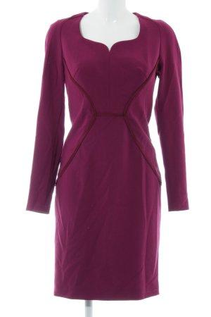 Jean Paul Stretchkleid lila-pink Business-Look