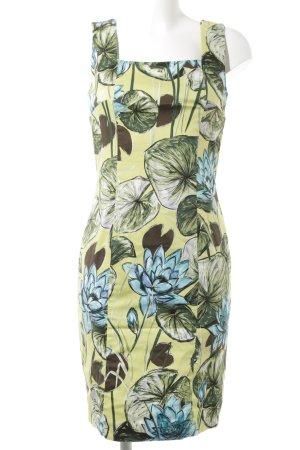 Jean Paul Trägerkleid florales Muster extravaganter Stil
