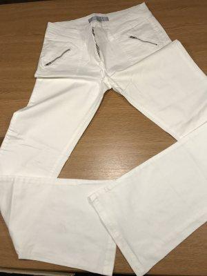Amisu Spijkerbroek wit