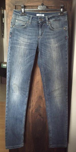 Liu jo Jeans cigarette bleu azur