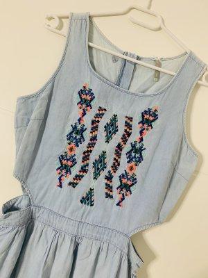 Denim Dress multicolored