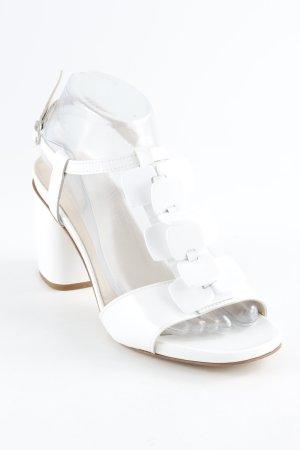 Jeannot High Heel Sandal white elegant