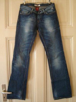 Fornarina Jeans bootcut bleu azur