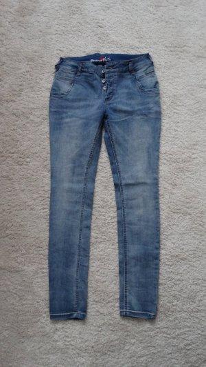 Buena Vista Jeans vita bassa multicolore