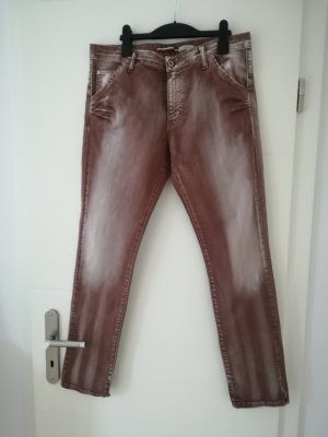 Please Boyfriend Jeans brown red