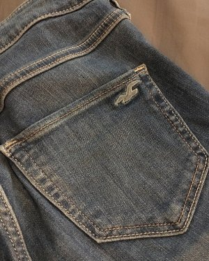 Hollister Jeans elasticizzati blu acciaio