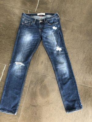 Hollister Jeans cigarette bleu