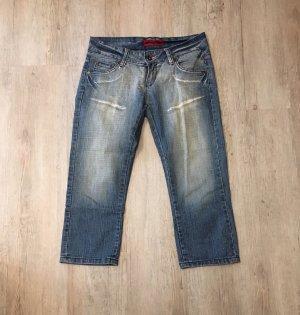 Soccx 3/4-jeans veelkleurig