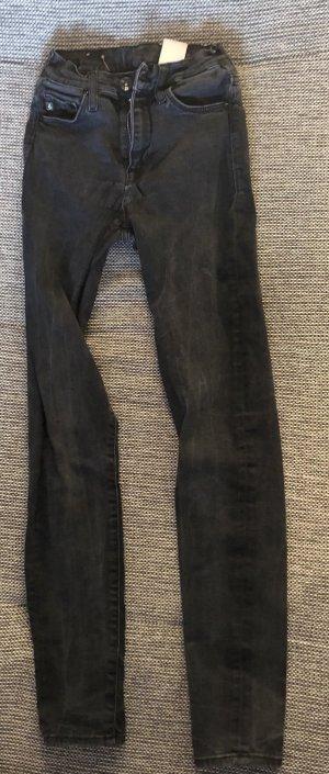 H&M Tube jeans zwart