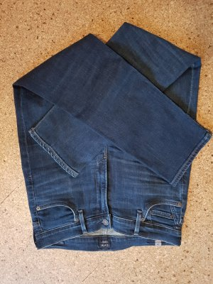 Citizens of Humanity Hoge taille jeans donkerblauw