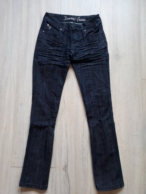 Boot Cut Jeans dark blue