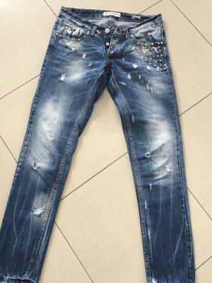 Jeans boyfriend blu