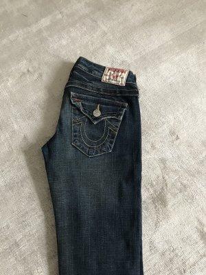 True Religion Pantalone cinque tasche blu