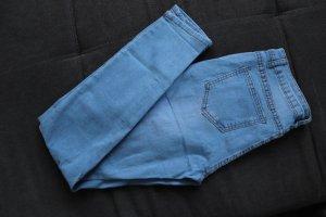 Baggy Jeans neon blue