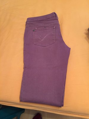 Clockhouse 3/4-jeans grijs-lila