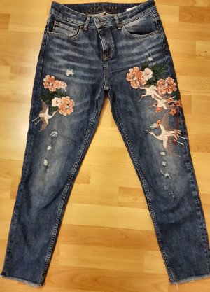Hallhuber Jeans 3/4 multicolore