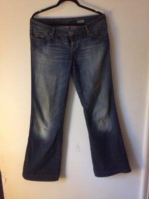 Cordon Jeans a zampa d'elefante multicolore