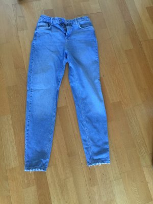 Pieces High Waist Jeans light blue