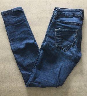 C&A Pantalon cigarette bleu foncé