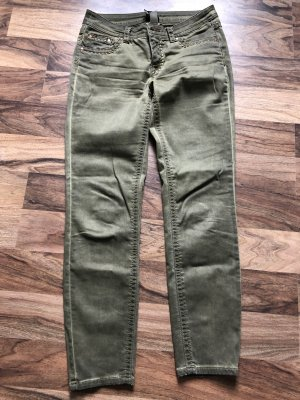 BC Hoge taille jeans khaki