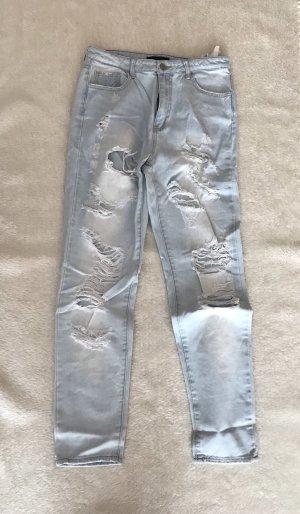 Jeans, 38, Tally Weijl, destroyed