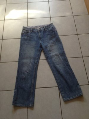 Street One Jeans a 7/8 blu acciaio