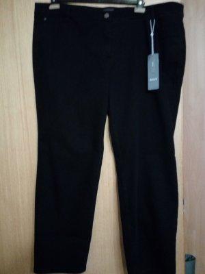 Basler Pantalón de cinco bolsillos negro Algodón