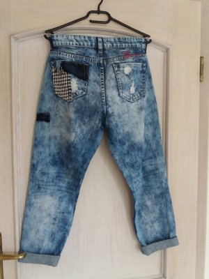 Desigual Stretch jeans lichtblauw