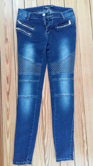 FB Sister Skinny Jeans blue