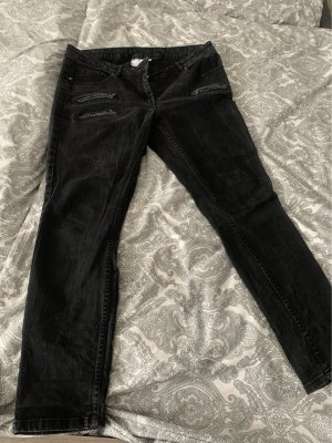 Blue Motion Straight Leg Jeans black