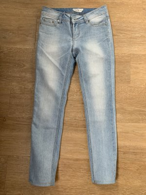 Slim jeans azuur