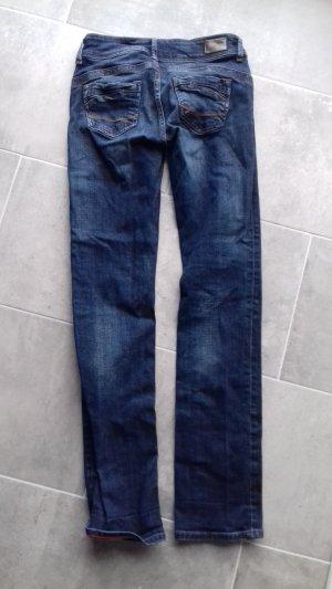 Pantalón de tubo azul