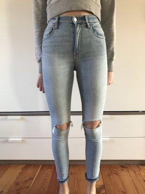 Garage Hoge taille jeans azuur