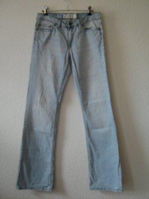 H&M Jeans bootcut bleu azur