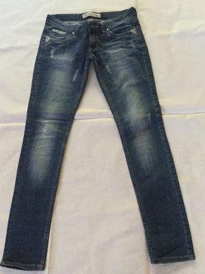 Diesel Low Rise Jeans dark blue