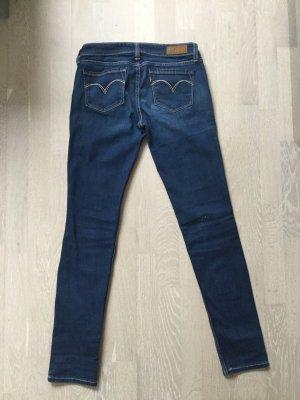 Levi's Jeans skinny bleu foncé tissu mixte