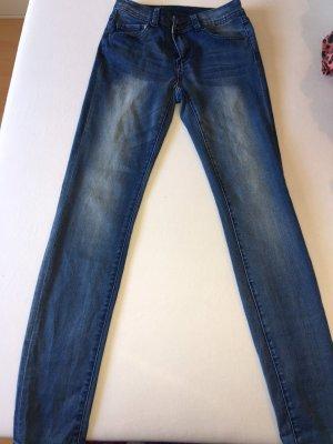 Amisu Jeans skinny blu