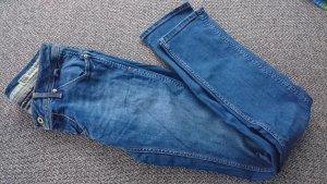 Tommy Hilfiger Denim Jeans met rechte pijpen staalblauw