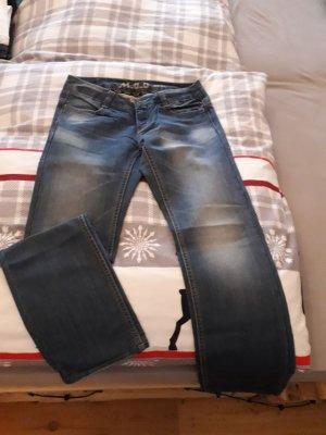 M.O.D. Jeans coupe-droite bleu