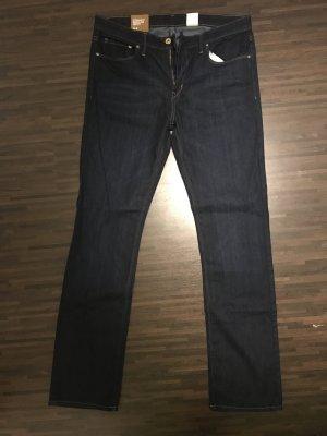 H&M Jeans bootcut bleu foncé