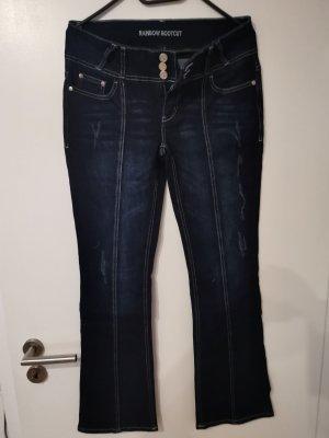 Rainbow Jeans svasati blu scuro