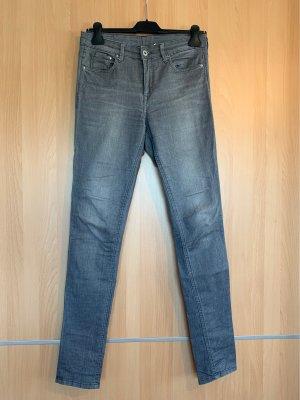 H&M Tube jeans grijs