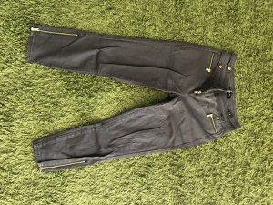 Melrose Jeans a 7/8 grigio-verde