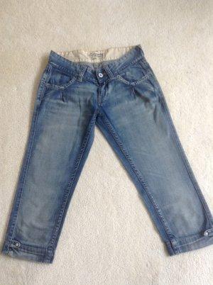 Jeans 7/8 / blau / Gr. 34 / Meltin Pot