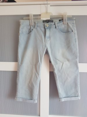 Jeans a 7/8 azzurro