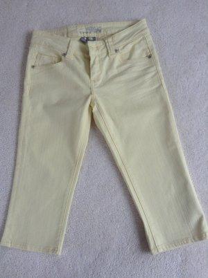 Jeans / 7/8 / Ge. 34/36 / gelb / Pumkie