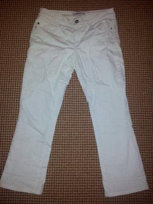 Jeans 7/8 Stiefelhose weiß Esprit Denim G. 27