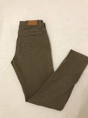 Hilfiger Denim Jeans a 7/8 grigio-verde